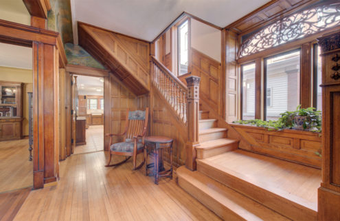 An industrialist's charming Queen Anne lists for $1.1m in Chicago