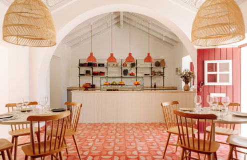 Porto Covo restaurant Abranda offers a polished take on the rustic aesthetic