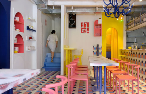 Moscow's Abu Gosh cafe puts PoMo back in the spotlight