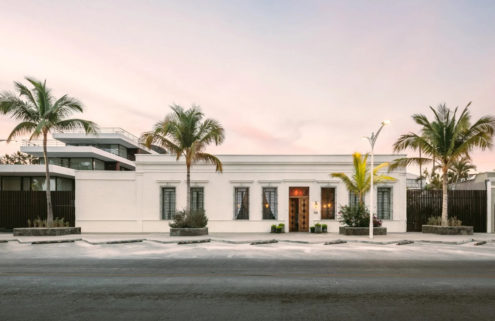 Baja Club Hotel blends old and new on Mexico's Bay of La Paz
