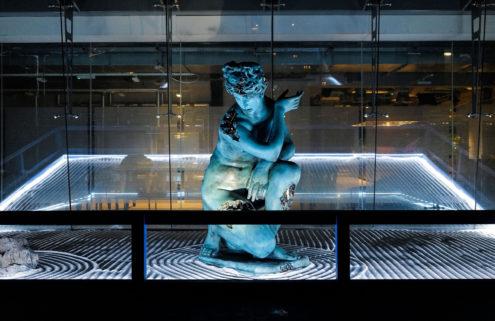 Behind the scenes at The Bronze Sculpture Garden – Daniel Arsham x 180 Studios