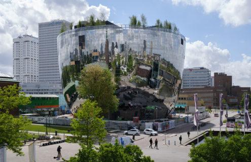 MVRDV's first-of-its-kind Rotterdam art depot is ready to open