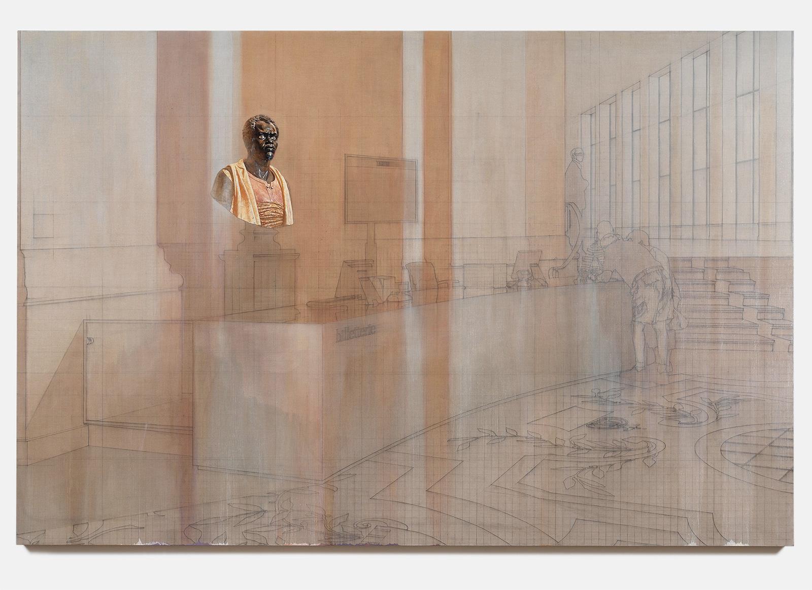 Esteban Jefferson, Billetterie, 2021. Courtesy of the artist and Tanya Leighton Gallery