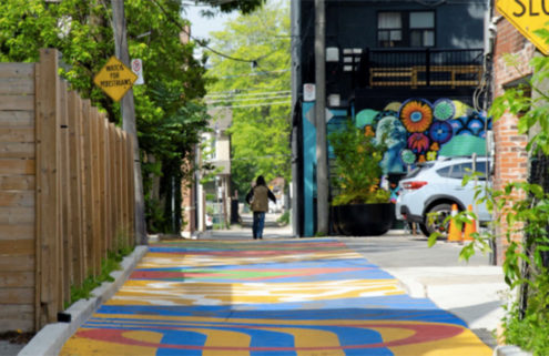 Toronto is awash with colour as 350 murals and installations come to the city