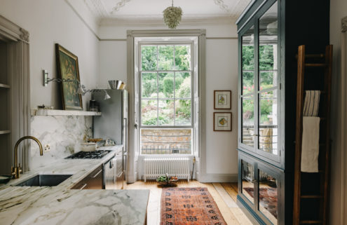 A historic home is for sale on one of the Uk's best streets