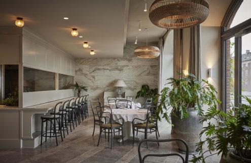 Copenhagen's botanically inflected restaurant Esmée is an 'urban orangery'