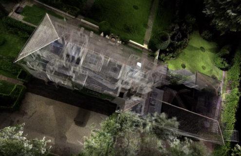Take a spectral tour of Gio Ponti's Villa l'Ange Volant