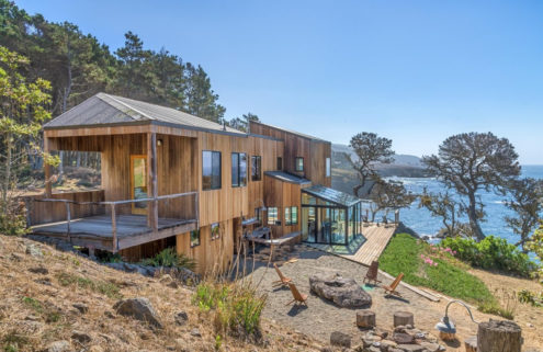 Sea Ranch visionary Lawrence Halprin's home lists for $8m