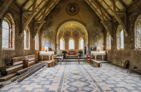 Five church conversions for sale in France