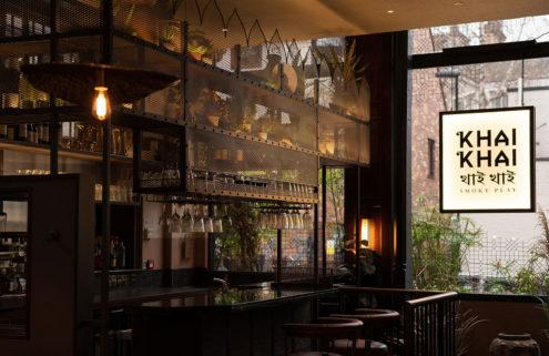 Hot coals and smoke inspire the design of Newcastle's Khai Khai restaurant