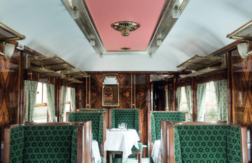 All aboard! Wes Anderson's train carriage celebrates the golden age of rail
